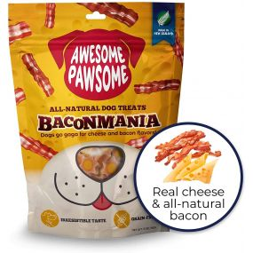 Awesome Pawsome Baconmania All-Natural Grain-Free Dog Treat - 85 gm