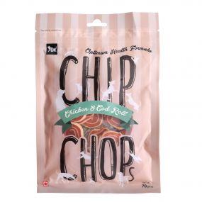 Chip Chops Chicken & Codfish Rolls  70 gm