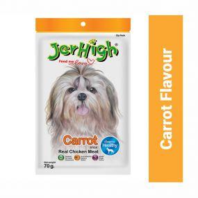 JerHigh Carrot Dog Treat - 70 gm