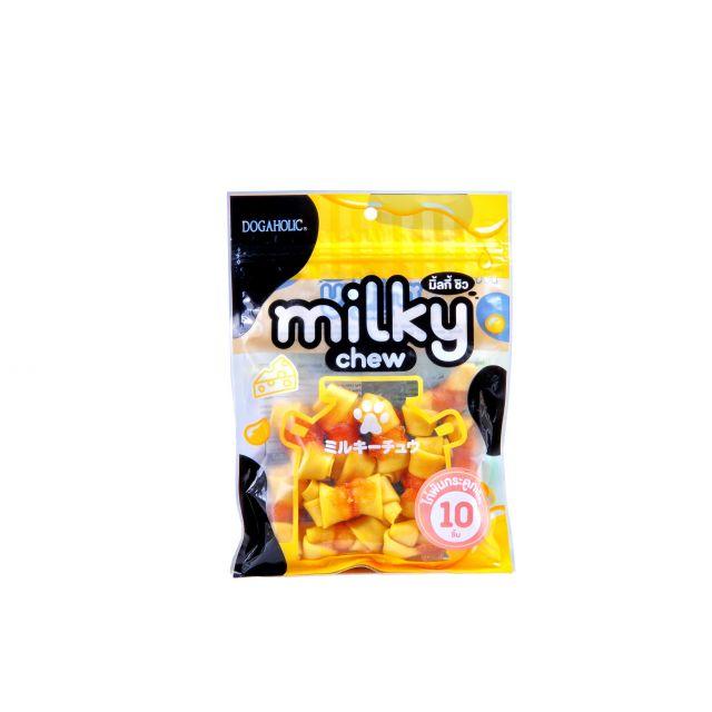Dogaholic Milky Chew Cheese & Chicken Bones Dog Treat - 10 pieces