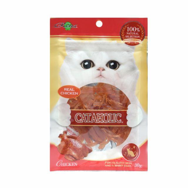 Cataholic Neko Cat Soft Chicken Jerky Sliced, 30 gm