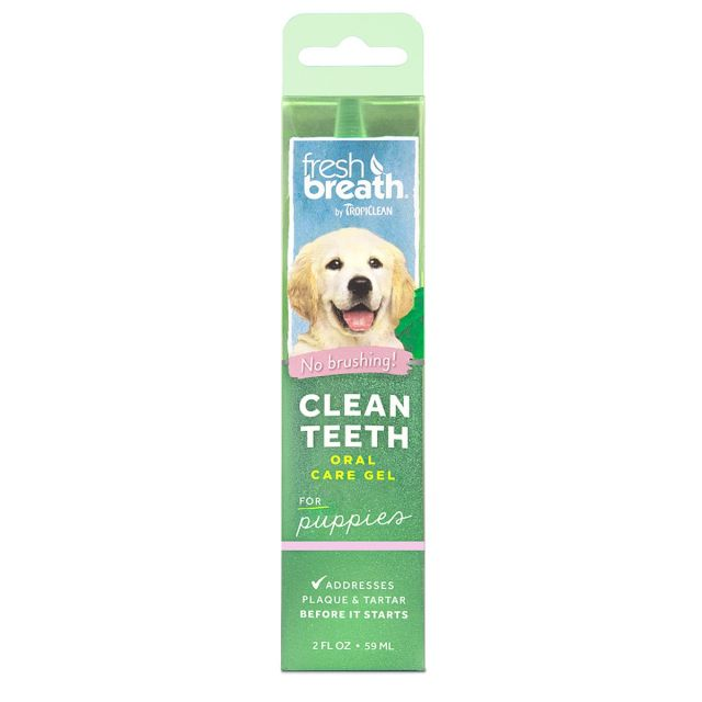 Tropiclean Fresh Breath Puppy Clean Teeth Gel - 59 ml