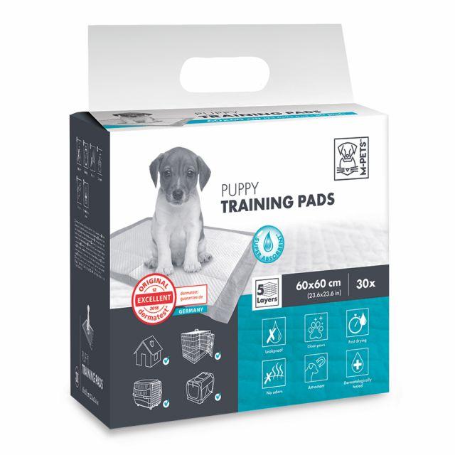 M-Pets PUPPY 60 x 60 Training Pads - 30 Pcs