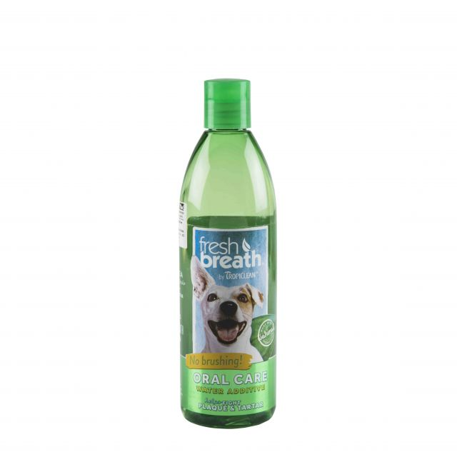 Tropiclean Fresh Breath Water Additive For Dog - 473 ml