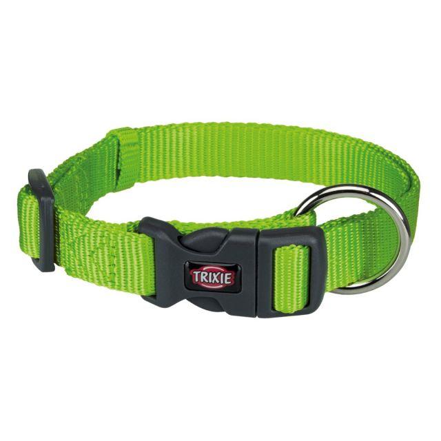 Trixie Premium Collar, 35-55cm/20mm, M-L, Green Apple