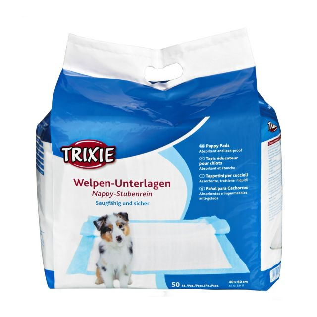 Trixie Nappy Puppy Training Pads -  50 Pads