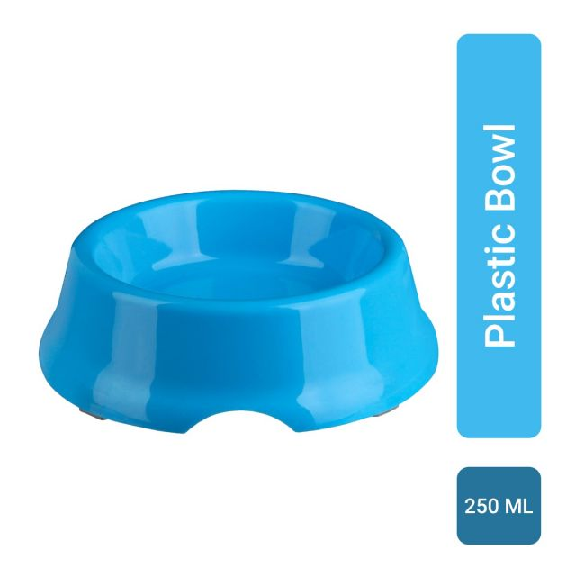 Trixie Plastic Bowl for Dogs (Assorted Color) 250 ml