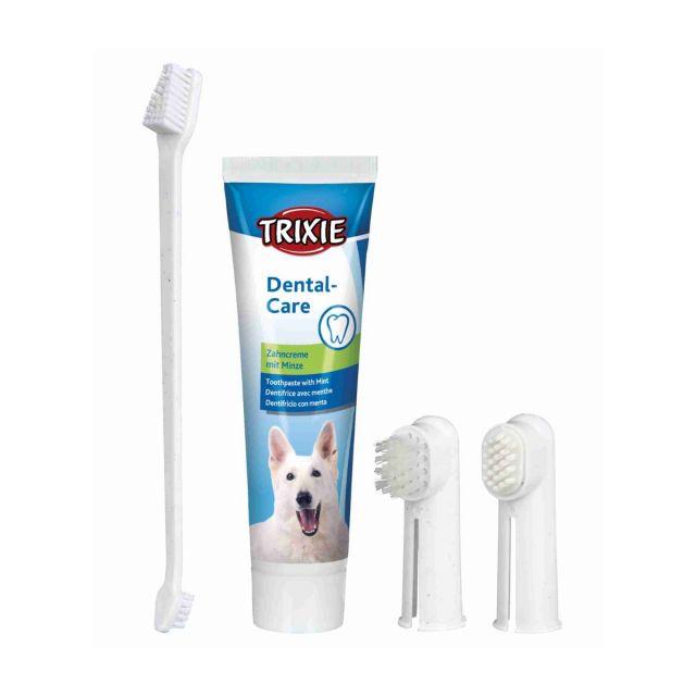 Trixie Dog Dental Hygiene Kit For Dog