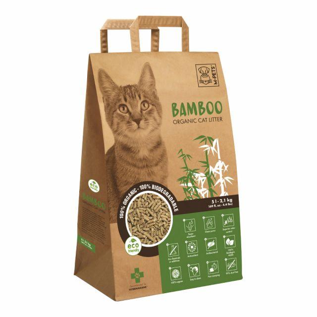 M-Pets Bamboo Cat Litter - 5L