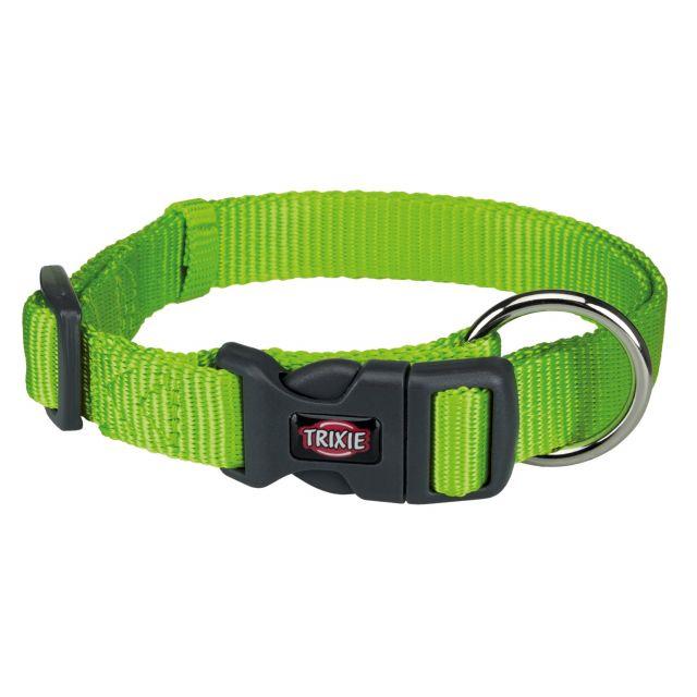 Trixie Premium Collar, 40-65cm/25mm, L-XL, Green Apple