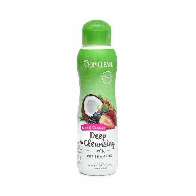 Tropiclean Berry & Coconut Dog Shampoo - 355 ml