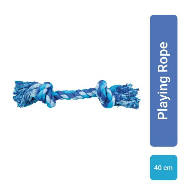 Trixie Playing Rope Dog Toy - 40 cm