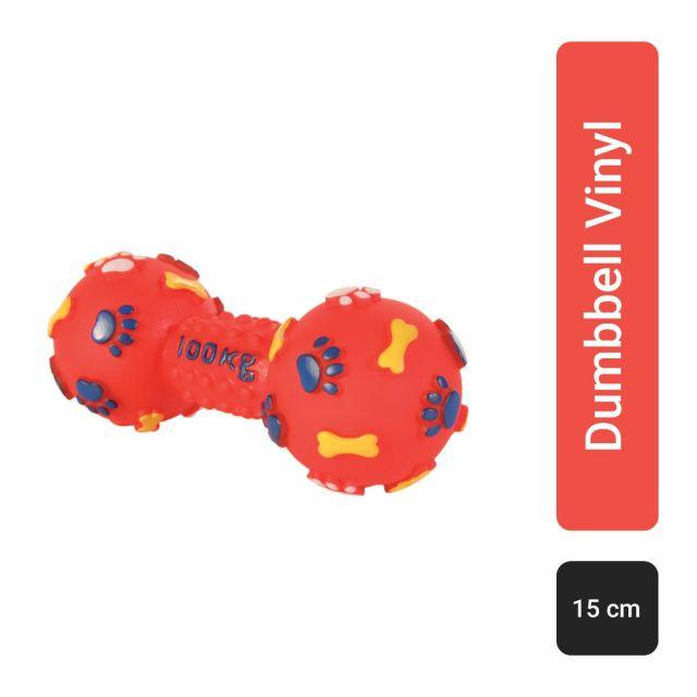 Trixie Dumbbell Vinyl, S, 15 cm