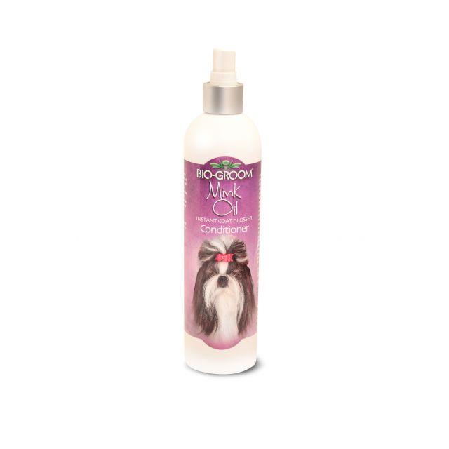 Biogroom Mink Oil Instant Coat Glosser Spary Conditioner - 355 ml