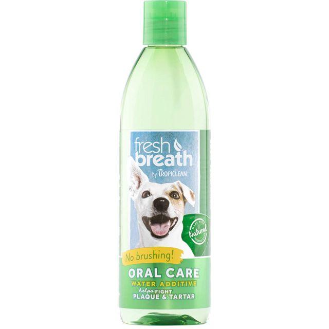 Tropiclean Fresh Breath Water Additive For Dog - 236 ml