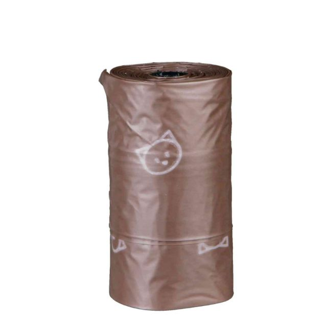 Trixie Cat Waste Bags, compostable, 3 rolls of 10 bags, 3 litres