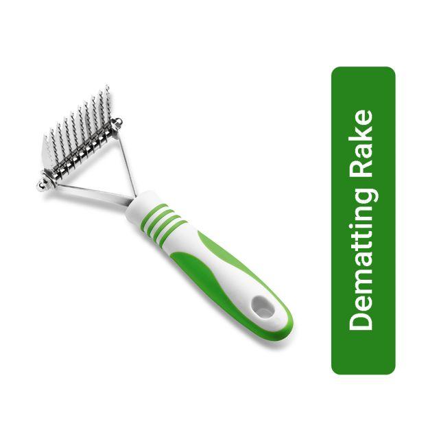Andis Dematting Rake Comb - Lime Green