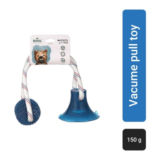 Basil Vacume pull toy with Ball Interactive Toy