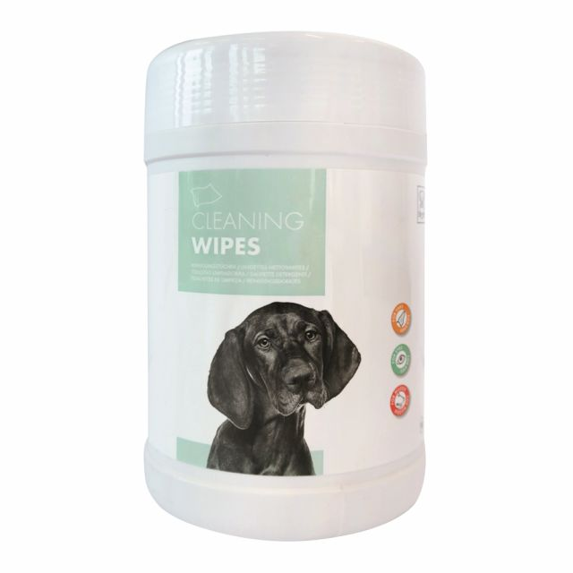M-Pets Cleaning Wipes for Sensitive Eyes, Ears & Muzzle (80 pcs)