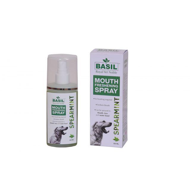 Basil Mouth Spray Spearmint 130ML