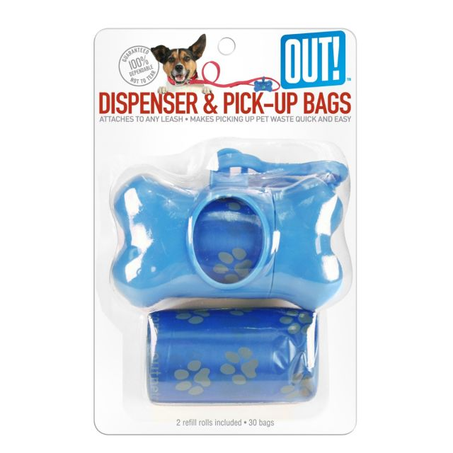 Out Pet Care Bone Dispenser & Waste Pick-Up Bags