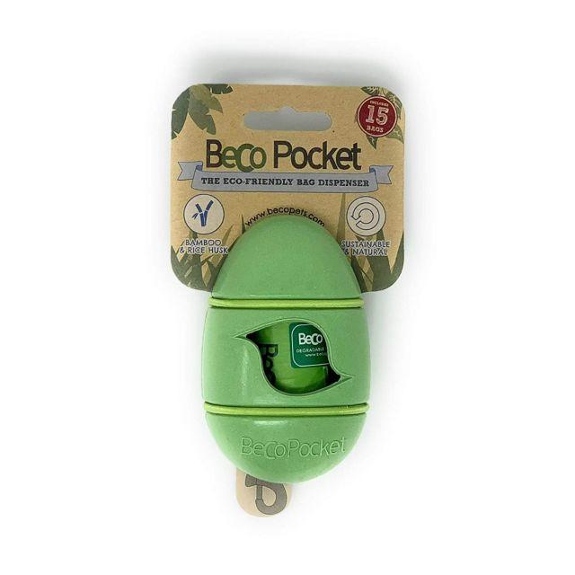 Beco Sustainable Poop Bag Pocket Dispenser