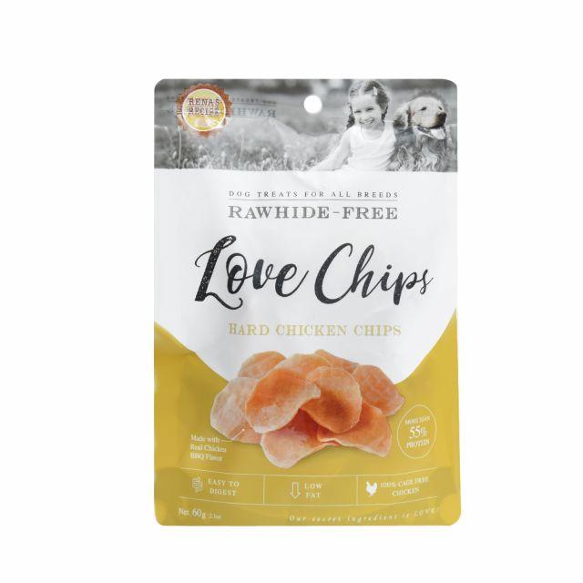 Rena LOVE Hard Chicken Chips Dog Treat - 60 gm