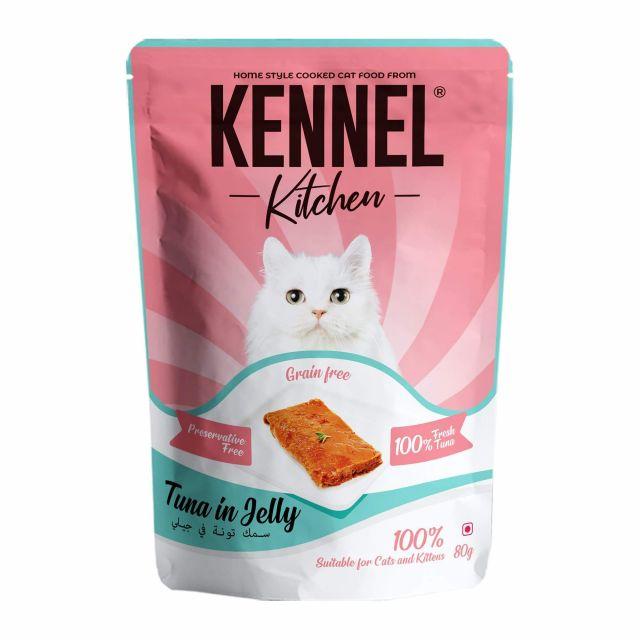 Kennel Kitchen Tuna In Jelly - 80 gm