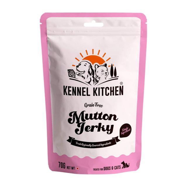 Kennel Kitchen Air Dried Mutton Jerky - 70 gm