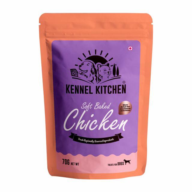 Kennel Kitchen Soft baked Chicken Stick Dog Treat - 70 gm