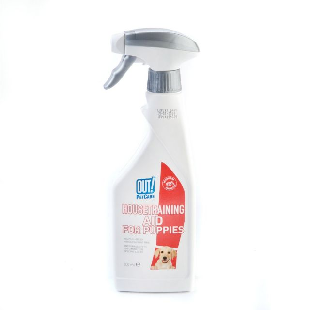Out Pet Care House training Aid for Puppies - 500 ml