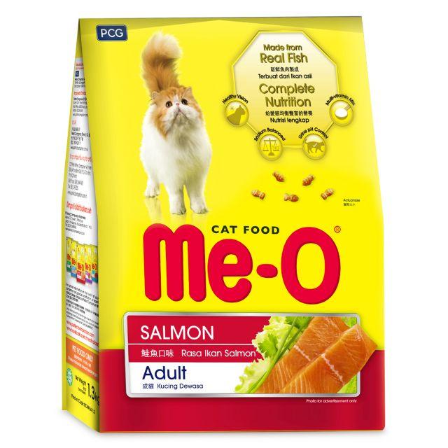 Me-O Salmon Adult Dry Cat Food 1 Kg