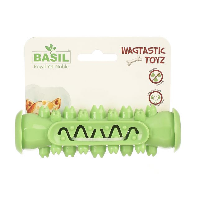Basil Teeth Cleaner Interactive Toy