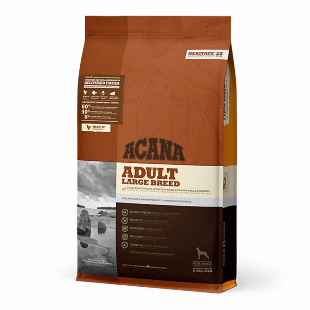 Acana Large Breed Adult Dry Dog Food - 11.4 Kg