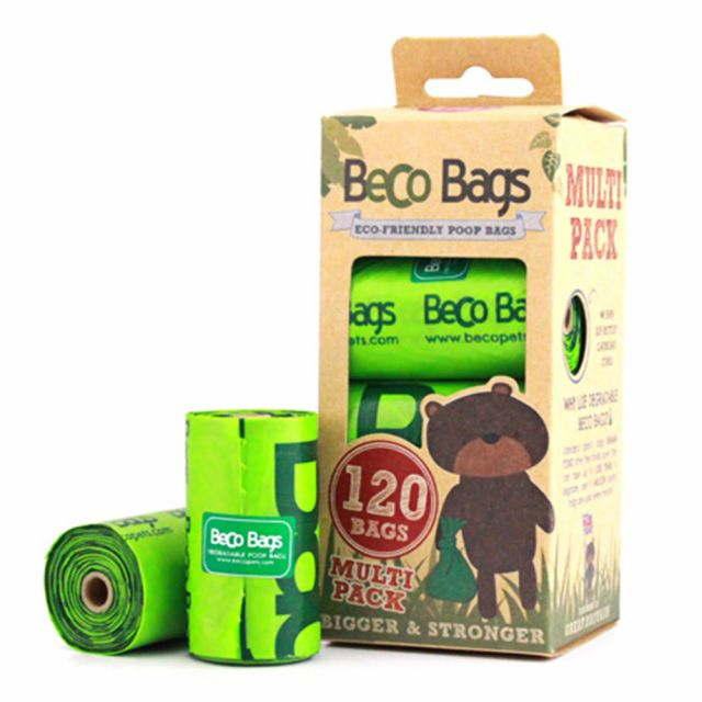 Beco Poop Bags (Degradable Unscented Without Handles)-120 bags
