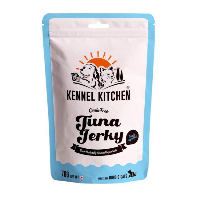 Kennel Kitchen Air Dried Tuna Fish Jerky - 70 gm