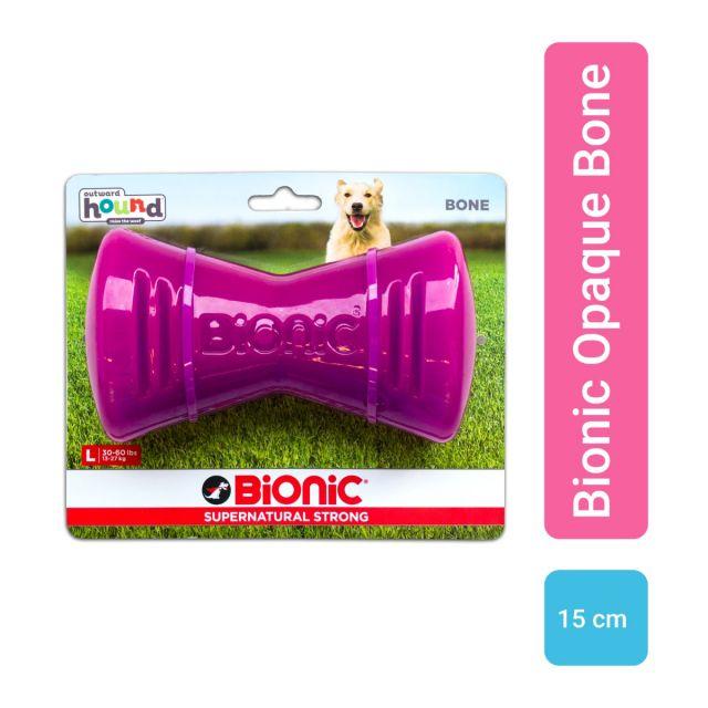 Outward Hound Bionic Opaque Bone Purple, Large,